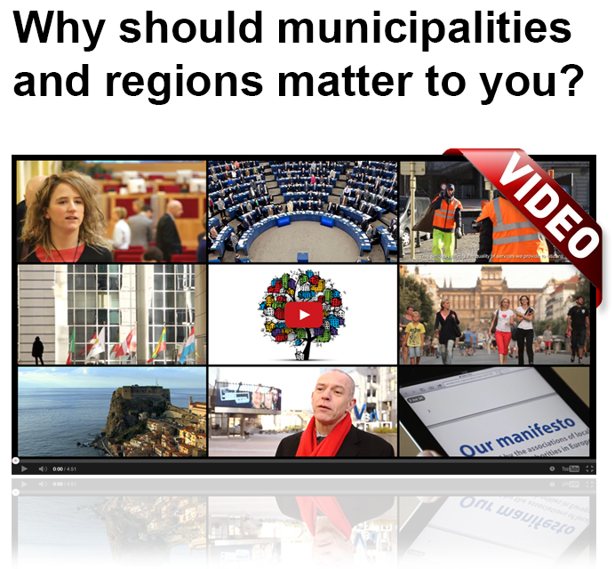 Why should municipalities and regions matter to you?